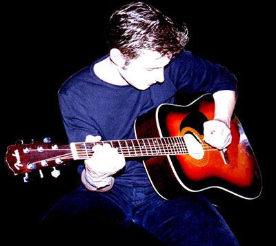 Gitarist Boudewijn de Jong (Bowe) - beginjaren